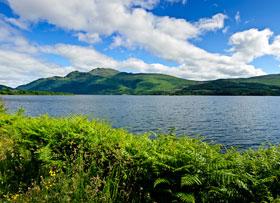 the bonnie banks of Loch Lomond, Scotland