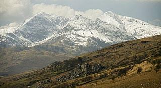 summit of Mount Snowdon, Wales